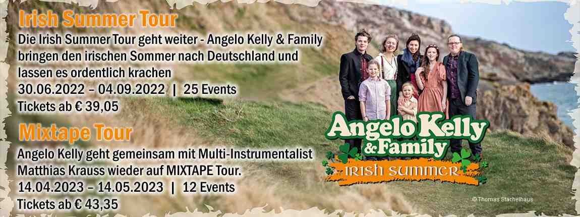 Angelo Kelly & Family - Irish Christmas Tour 2020