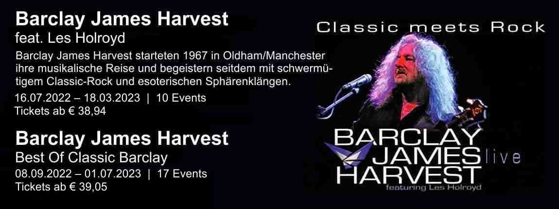 Tickets für Barclay James Harvest feat. Les Holroyd