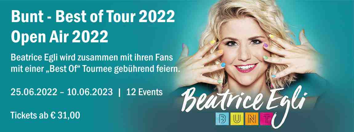 Beatrice Egli - Best of Tour 2021