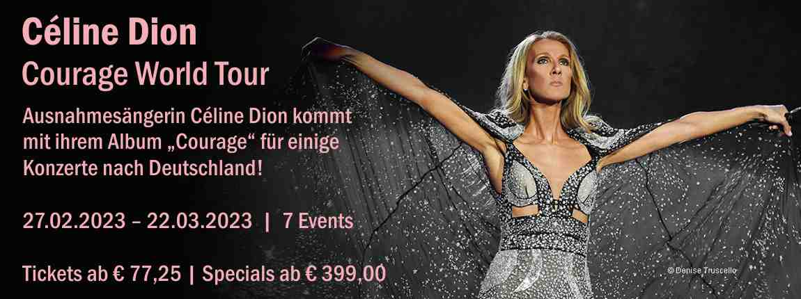 Celine Dion - Courage World Tour