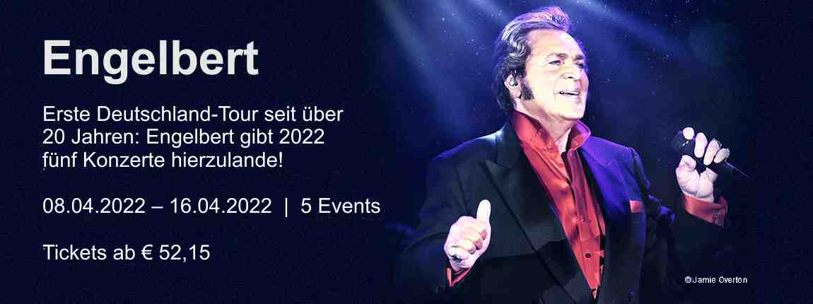 Engelbert Humperdinck Tour 2021