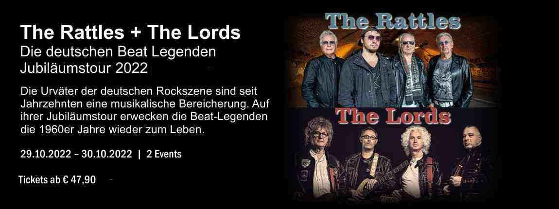 The Rattle + The Lords auf Jubiläumstour 2020